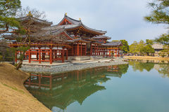 Byodo-in Temple. Japan. Royalty Free Stock Photo