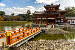 Byodo-in Temple. Kyoto Royalty Free Stock Image