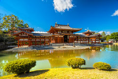 Byodo-in Temple. Kyoto Royalty Free Stock Photo