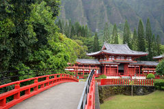 Byodo-In Temple, O'aho, Hawaii Royalty Free Stock Photos