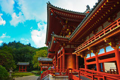 Byodo-In Temple, Oahu Hawaii Stock Photos
