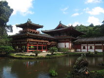 Byodo-In Temple, Oahu, Hawaii Stock Photo