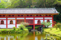 Byodo-in temple rear Royalty Free Stock Image