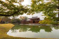 Byodo-in Temple. At Uji Town Kyoto, Japan stock photos