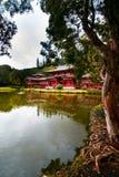 byodohawaii oahu tempel Royaltyfri Bild