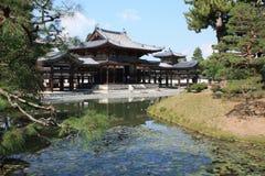 Byodoin菲尼斯大厅寺庙, Uji,京都日本 免版税库存照片