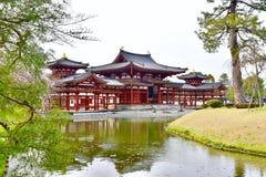 Byodoin Japon de temple de Kyoto de ville d'Uji images libres de droits