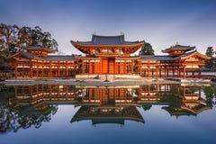 Byodoin Phoenix Hall de Kyoto photo stock