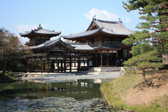 Byodoin Phoenix Hallentempel, Uji, Kyoto Japan Stockfotografie