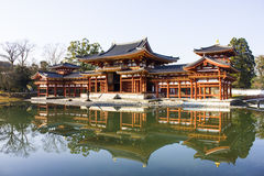 Byodoin temple in Kyoto, Japan Stock Photo