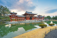Byodoin Temple landmark of Uji town in Kyoto, Japan Royalty Free Stock Images