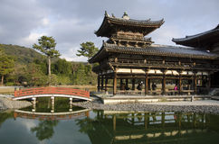 Byodoin temple in Uji, Kyoto, Japan Stock Photography