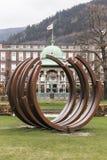 Byparken à Bergen Images libres de droits