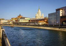 Bypass Canal in Moscow Stock Images
