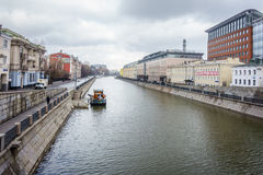 Bypass Canal in Moscow Stock Photo