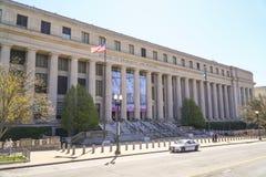 Byrå av gravyr och printing i Washington DC - WASHINGTON DC - COLUMBIA - APRIL 7, 2017 Royaltyfria Bilder