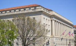 Byrå av gravyr och printing i Washington DC - WASHINGTON, DISTRICT OF COLUMBIA - APRIL 8, 2017 Arkivfoton