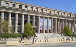 Byrå av gravyr och printing i Washington DC - WASHINGTON, DISTRICT OF COLUMBIA - APRIL 8, 2017 arkivfoto