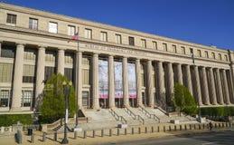 Byrå av gravyr och printing i Washington DC - WASHINGTON, DISTRICT OF COLUMBIA - APRIL 8, 2017 royaltyfri fotografi