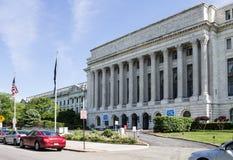 Byrå av gravyr- och printingWashington DC royaltyfri fotografi