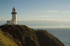 Byron海湾灯塔 库存图片