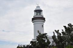 Byron海湾灯塔 免版税库存图片
