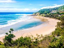 Byron Bay Stockbild