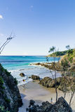 Byron Bay Beach Arkivbild