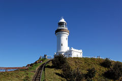 Byron Bay Lighthouse. New South Wales, Australia - The most easterly point of Australia royalty free stock photo