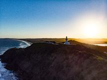 Byron bay lighthouse royalty free stock photo