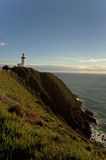 Byron Bay Lighthouse at a distance Royalty Free Stock Image