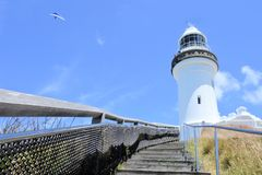 Byron Bay Lighthouse Lookout New South Wales, Australia royalty free stock photography