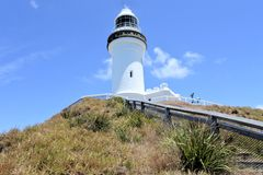 Byron Bay Lighthouse Lookout New South Wales, Australia royalty free stock photo