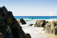 Byron Bay Surfers Stock Images