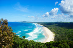 Byron Bay Tallow Beach Stock Image