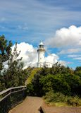 Byron lighthouse vertical crop stock image