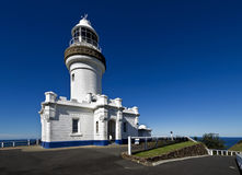 Byron Podpalana latarnia morska Zdjęcia Stock