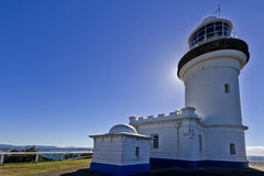 Byron Podpalana latarnia morska Obrazy Stock