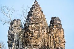 The Byron's temple in Angkor royalty free stock image