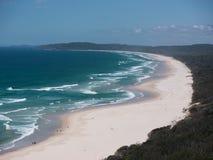 Byron zatoki plaża Zdjęcie Stock