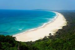 Byron zatoki ` s plaże, Australia obraz stock