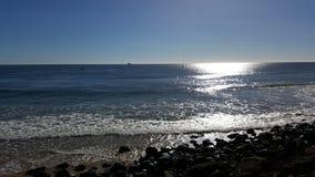Byron zatoki skały Zdjęcia Royalty Free