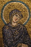 Bysantinsk freskomålning stock illustrationer