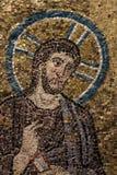 Bysantinsk freskomålning royaltyfri illustrationer