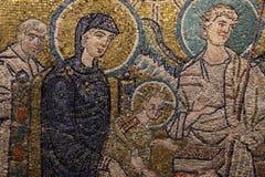 Bysantinsk freskomålning Royaltyfria Bilder