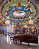 Bysantinsk katolsk kyrka för förklaring royaltyfri fotografi