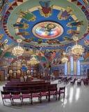 Bysantinsk katolsk kyrka för förklaring royaltyfria foton