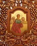 Bysantinsk katolsk kyrka för förklaring arkivbilder