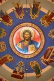 Bysantinsk katolsk kyrka för förklaring royaltyfri bild