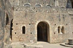 Bysantinsk kyrka arkivbilder